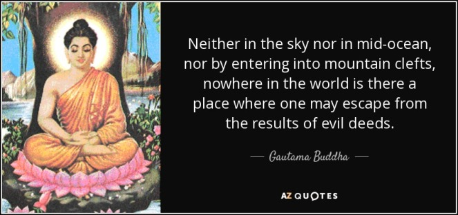 quote-neither-in-the-sky-nor-in-mid-ocean-nor-by-entering-into-mountain-clefts-nowhere-in-gautama-buddha-66-76-47